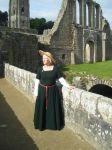 Ann at Fountains Abbey by Janes-Wardrobe