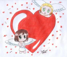 APH - Let we be your Valentine by Yugi-Muraki