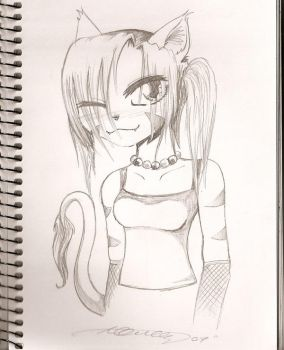 Tiger Kitty by SeethingSouls16