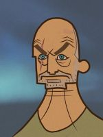 LOST Animated: John Locke by Artsammich