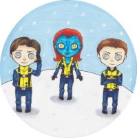 X-Men Snow Globe by EmailinasBrother
