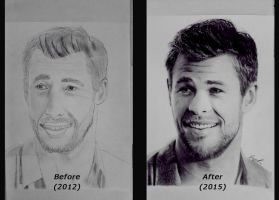 Then And Now by shaynaJreddick