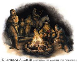 DragonLance: Nomads by LinzArcher