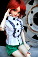 Little Miss Redhead. by ForeverResin