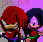 RQ: KNUX AND BILLE ROCKIN ! by SonicForTheWin1