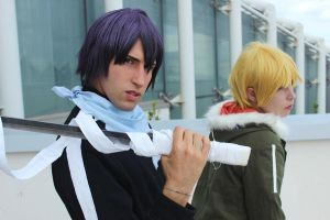 Noragami -Yato and Yukine 2 by cosplay33