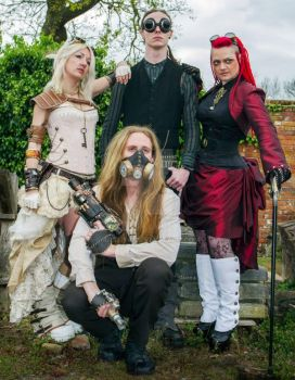 Steampunk Group by arkaya