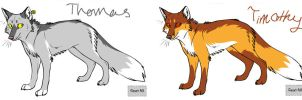 The fox Brothers by Jekal
