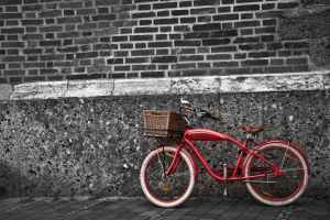red bike by RaMaKrAmA