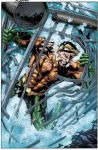 Aquaman cover colored by aethibert