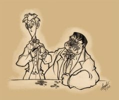 To Stan and Ollie by Sandora