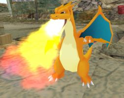 Mega Charizard Y MMD by stopmotionOSkun