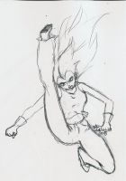 DBZ OC:: Boot to the Head by Tsuna-Draken