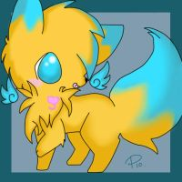 -- Oh look at my tail -- by ToxiicClaws