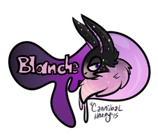 Blanche badge by CannibalHarpy