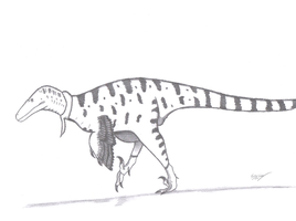 Utahraptor ostrommaysorum by KingEdmarka