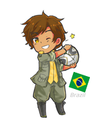 HetaliaOC: Brazil by SPINNY-chair-HERO