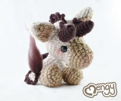 Baby Kirin Amigurumi Plushie by mengymenagerie