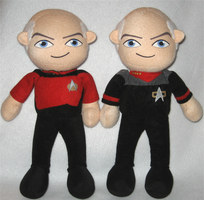 Captain Picard x2 by Squisherific