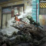 Babiru 12. Detail. Chill out on a wreck. by duster132