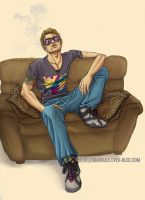 Johnny Moquette Smoker by LOTTECHAR