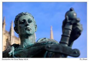 Constantine the Great Statue  rld 01 dasm by richardldixon