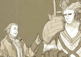 Varric's Advice by ForTheLoveOfxD