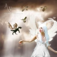 Baby dragon learn to fly by annemaria48