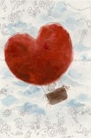 the heart air balloon , by hearte
