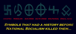 Religious Symbols Killed By National Socialism by ColumbianSFR