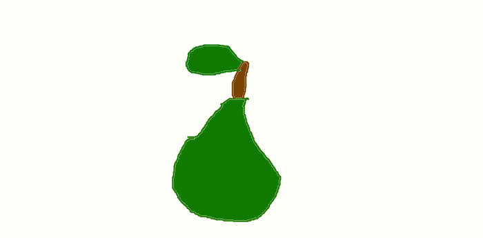a pear by SupremeSer