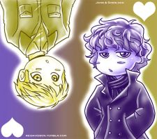 .: John and Sherlock :. by ReiDavidson