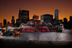Buckingham Fountain by dogeatdog5