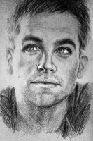 Chris Pine by LanaChestnut