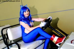 PAX East 2014 - Blue Blur(PS) 01(EDIT) by VideoGameStupid