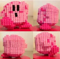 Kirby by eightbitbert