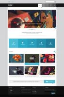 Maxell-Portfolio/Agency PSD by Rohit-Creations