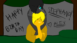 Happy birthday stephano! by AlexTheVixen