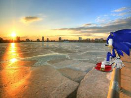 time to take a break(in sonic adventure DX) by shadow--g