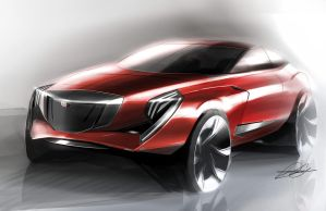 Cadillac 6er concept by Dannychhang