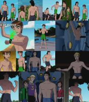 Ben 10 Alien Force Shirtless scenes by Werelyokoman