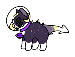 Space dog by RATEETH