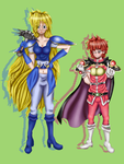 Lina/ Gourry Gender Bend by Circe17