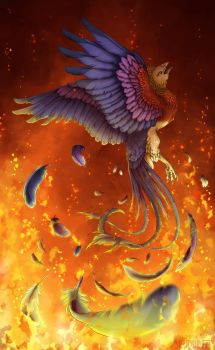 The Burn of the Unwanted Fire by Skudde