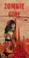 zombie girl by ayillustrations