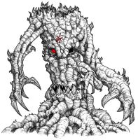 Tobanga, the Demon Tree by monstah