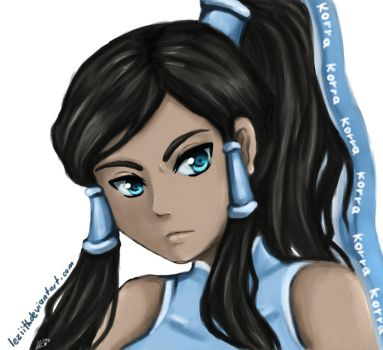 Korra by leziith