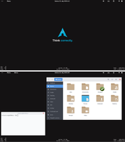 Archlinux + Gnome-shell 3.16.2 by patriko27