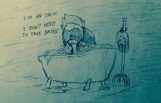 No Baths by ToothpasteThy