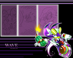 Wave wallapaper by Faezza